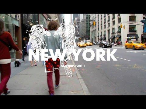 USA, part 1. New York and painting graffiti at legendary spot 5'pointz