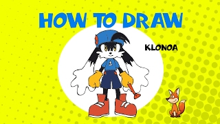 How to draw Klonoa - STEP BY STEP - DRAWING TUTORIAL