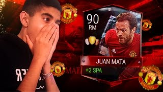 90 RATED MATA! #FIFAMOBILE 90 RATED ELITE PLAYER REVIEW!