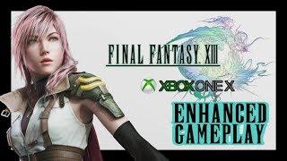Final Fantasy XIII (13) Xbox One X ENHANCED Gameplay