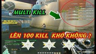 Crossfire : Thử Thách 100 Kill Đấu Đơn | AWM VIP | Đột Kích | Huy Hai Huoc