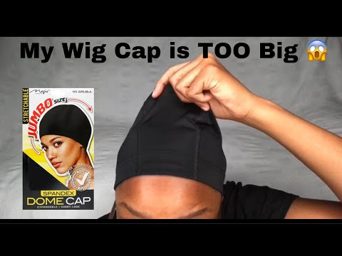 How To Make Your Wig Cap Smaller/Get Rid Of Extra Cap