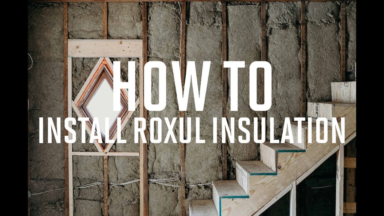 How to insulate walls with roxul insulation better than for What is roxul insulation