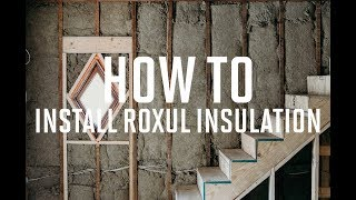 How to Insulate walls with Roxul Insulation- BETTER THAN FIBERGLASS