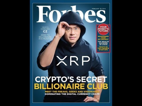 Binance CEO Becomes Coolest Guy In Crypto.  Adds Ripple XRP Base Pairs.