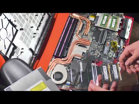 MSi Apache Pro Upgrades for M.2 SSD, HDD to SSD, and RAM