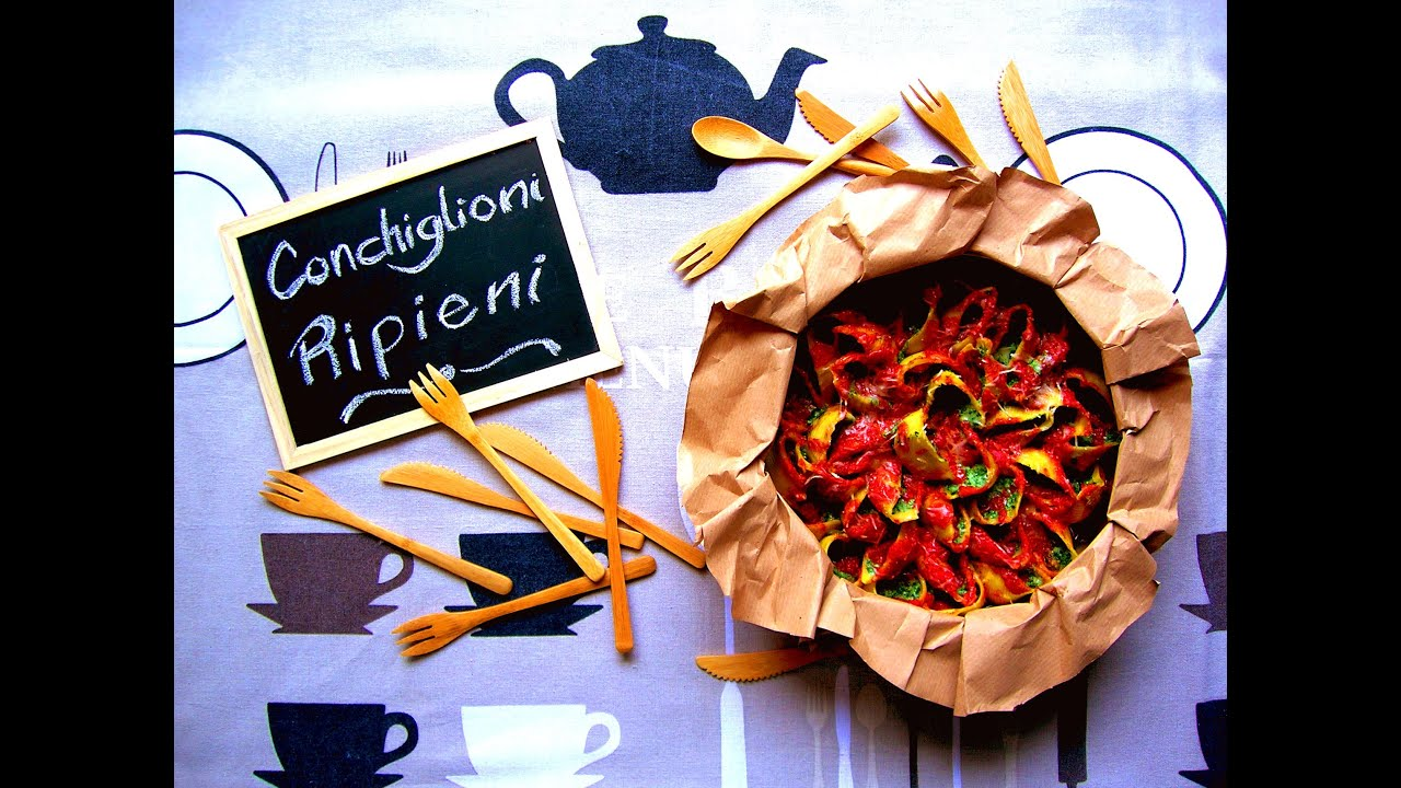 Conchiglioni ripieni di spinaci e ricotta 39 80 voglia di for Cucinare spinaci