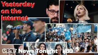 Yesterday on the Internet | The Pepsi Ad  VICE News Tonight (HBO)