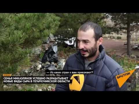 Армянская семья производит эксклюзивные виды сыров с вином и коньяком