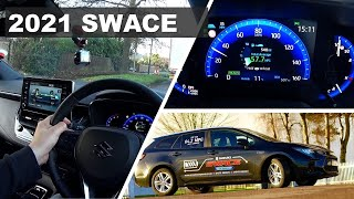 2021 Suzuki Swace SZ-T on Road Review (2021 Toyota Corolla Sports Touring)