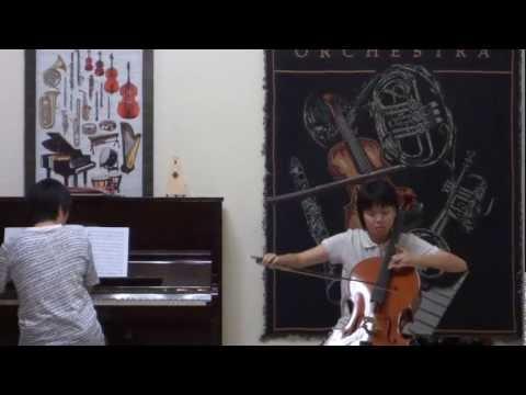 ABRSM Cello Exam 2010-15 Grade 6-B1, Berceuse (1901)