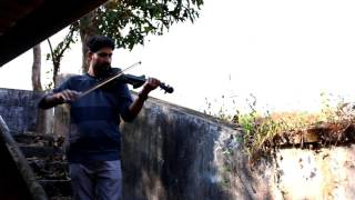 Ethrayo Janmamayi Violin Cover - Abhi