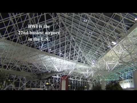 A Tour of BWI Airport: Check-in areas and Concourses D and E (Part 1)