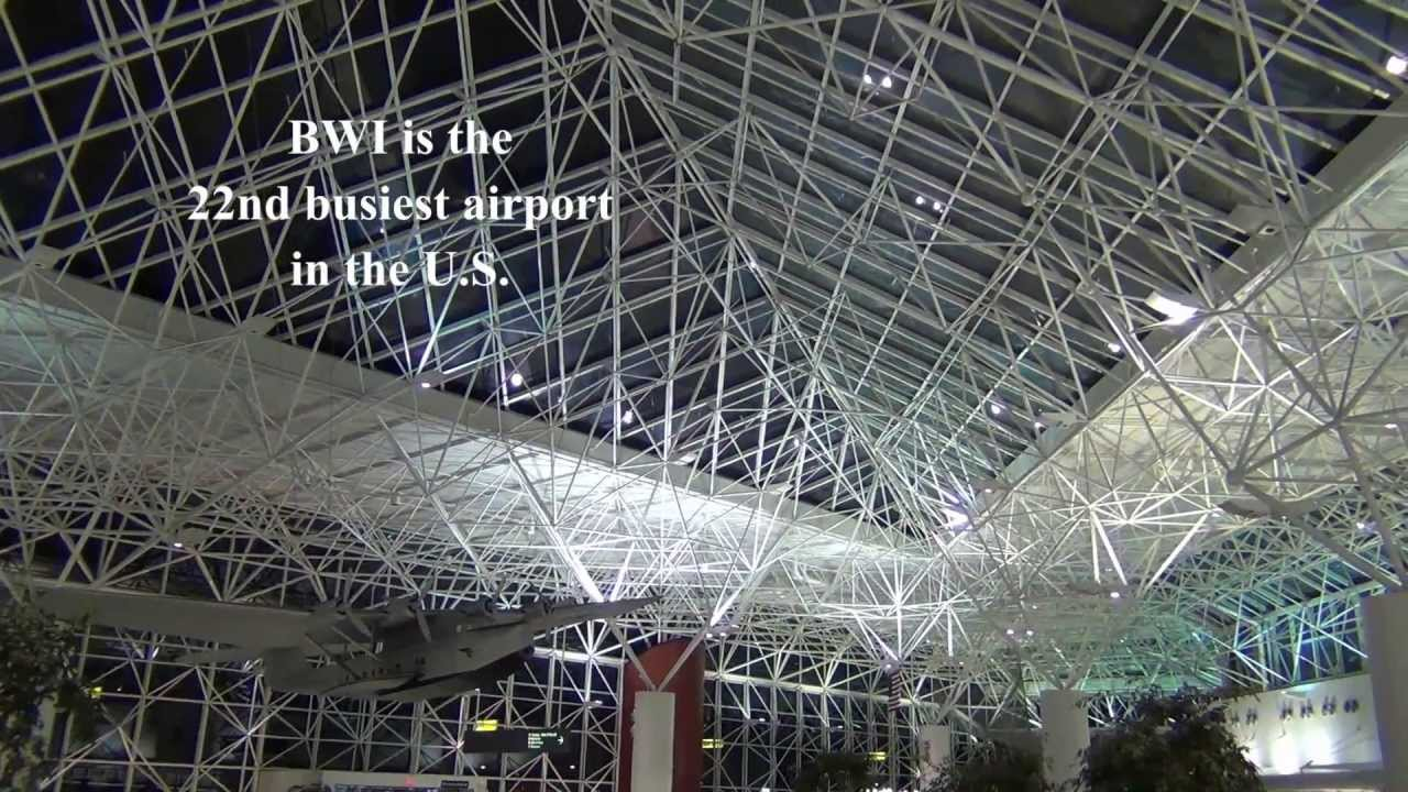 A Tour Of Bwi Airport Check In Areas And Concourses D And