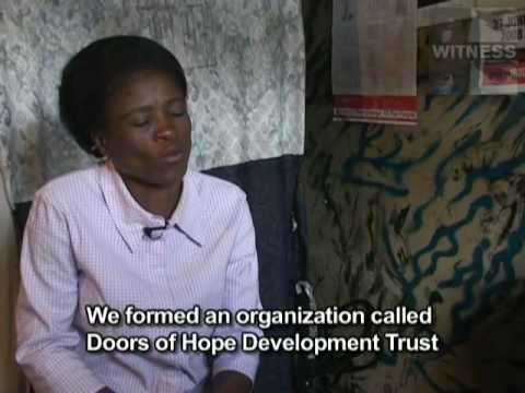 Mary tells her story about the violence she survived during the Zimbabwe Elections of 2008