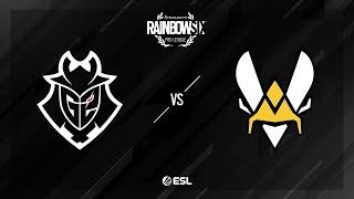 G2 Esports vs. Team Vitality - Theme Park - Rainbow Six Pro League - Season XI - EU