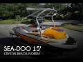 [SOLD] Used 2012 Sea-Doo 150 Speedster in Crystal Beach, Florida