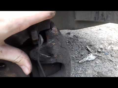 Замена передних тормозных колодок Astra g h Vektra d
