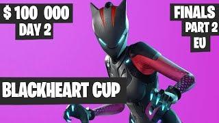 Fortnite Blackheart Cup Final PART 2 Highlights - EU Day 2 [Fortnite Tournament 2019]