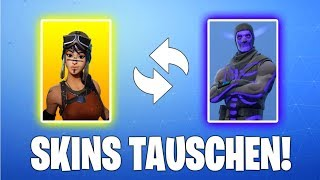 SKINS CHANGE FUNCTION IN FORTNITE! ( Skins trade fortnite )