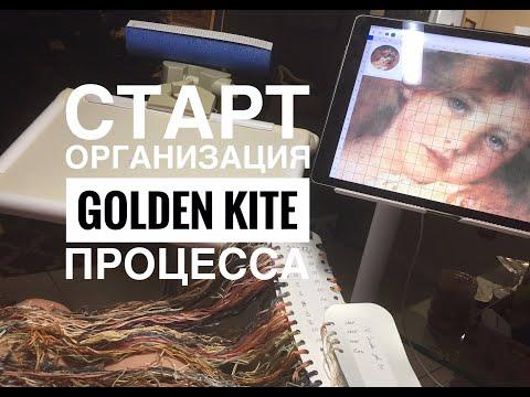 Golden Kite ГОЛДЕН КАЙТ ДЕВОЧКА/ СТАРТ И ОРГАНИЗАЦИЯ ПРОЦЕССА МНОГОЦВЕТКИ/ ВЫШИВКА КРЕСТИКОМ