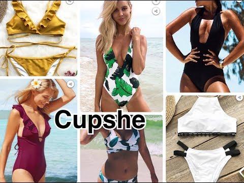 Покупка купальников из Китая Cupshe ДЁШЕВО