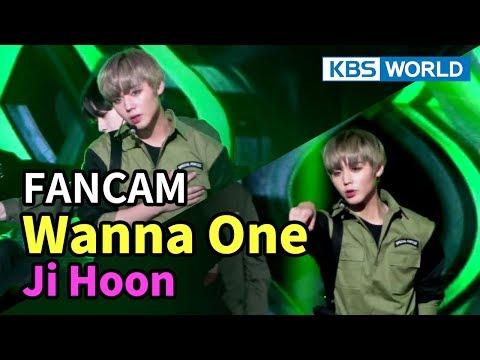 [FOCUSED] Wanna One's Park Ji Hoon - Boomerang [Music Bank / 2018.04.06]
