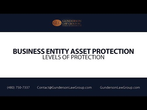 Business Entity Asset Protection | Gunderson Law Group