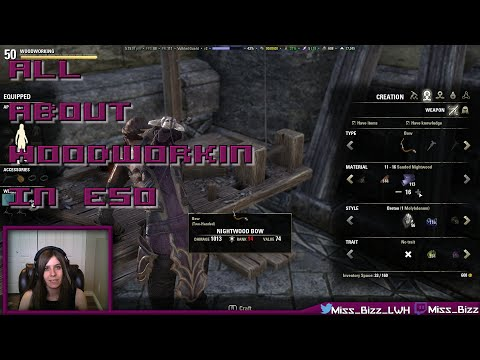 ESO Woodworking Guide