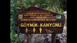 Турция, каньон Гёйнюк (Göynük), поездка в Кемер, обзор номера Imperial Sunland 5*