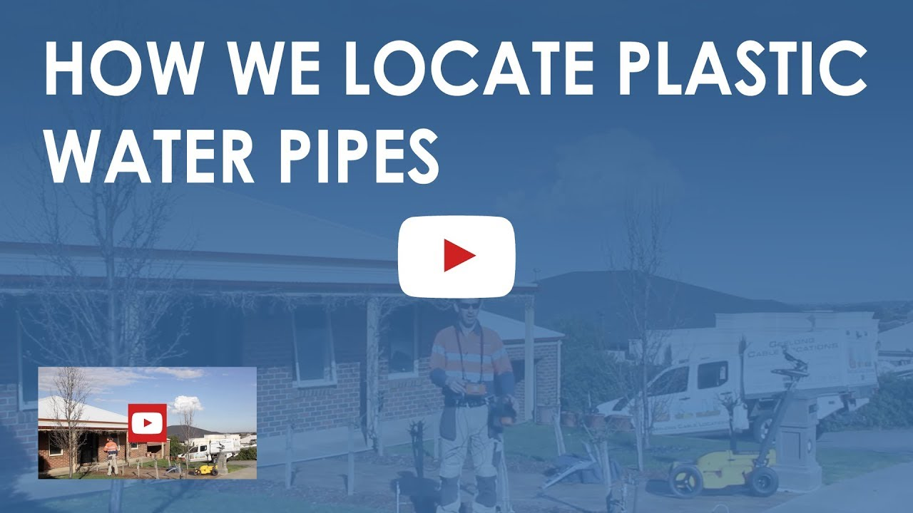 How We Locate Plastic Water Pipes Youtube Underground Pipe Buy Flex Wireunderground Electrical Premium