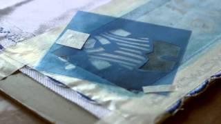 Pintura em tecido – Fralda com stencil