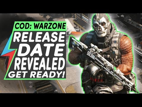 Call of Duty Warzone Release Date | Modern Warfare Battle Royale