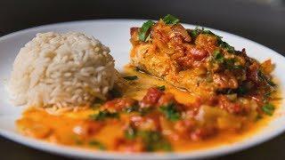 Рыба с помидорами в духовке   АСМР   Рецепт
