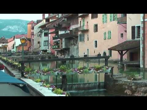 Annecy-France.BEST TOURIST SPOTS.Full HD