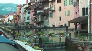 Annecy-France.BEST TOURIST SPOTS.Full HD