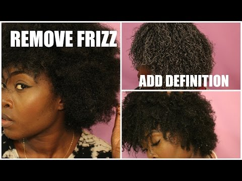 NATURAL HAIR: DEFINING FRIZZY TYPE 4 HAIR WITH ONE PRODUCT!