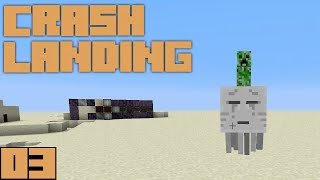 Minecraft Crash Landing - Unlimited Water! [E03]
