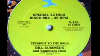 Download 70's funky disco music - Bill Summers - Straight to the bank 1978 MP3 song and Music Video