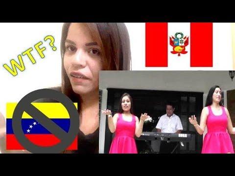 VENEZOLANA RESPONDE A LA CANCION PERUANA LAS VENECAS
