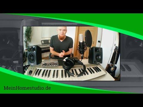 Wie kann ich meine eigene Musik produzieren?   MeinHomestudio.de   Home Studio einrichten