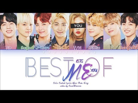 BTS 「Best Of Me」 [8 Members Ver.] (Color Coded Lyrics Han|Rom|Eng)