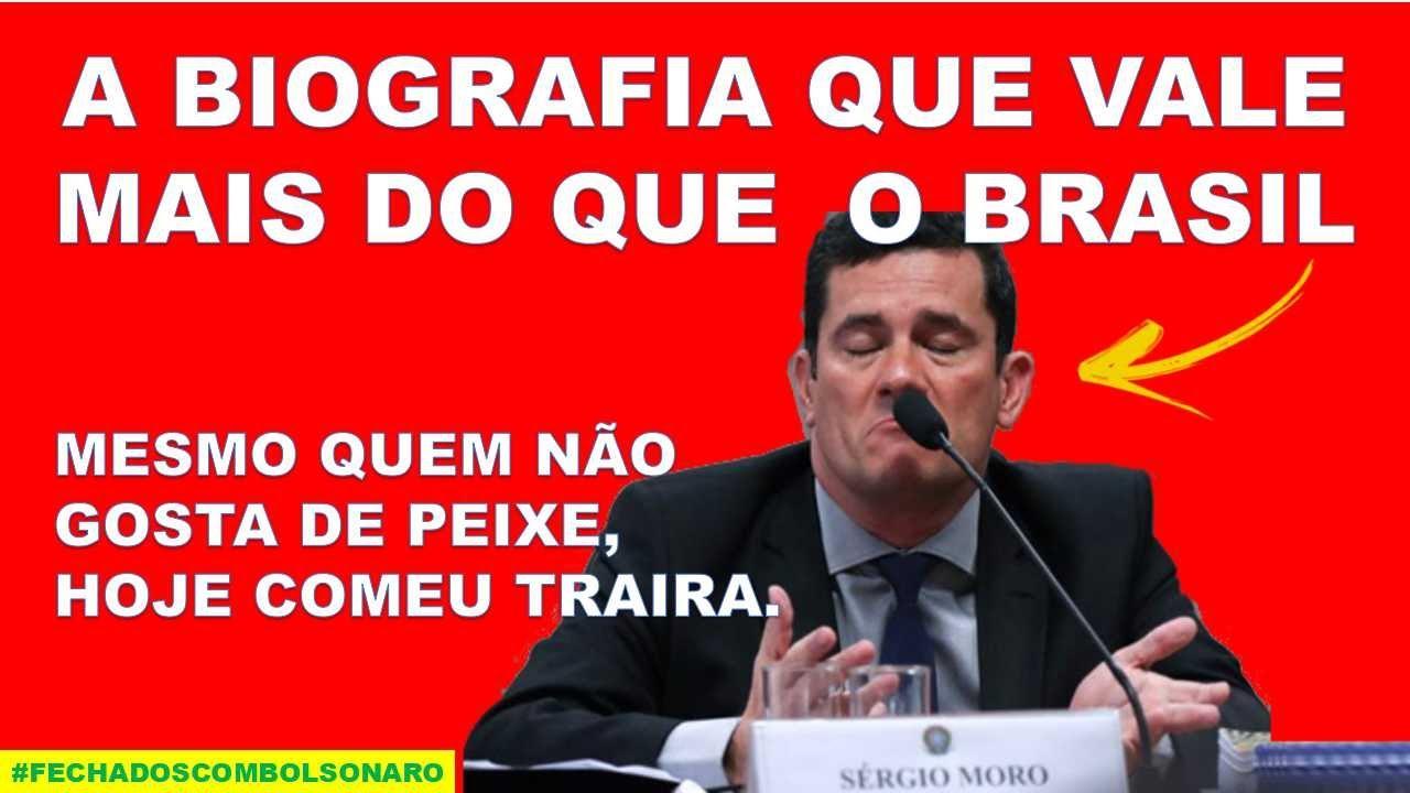 TRÊS PERGUNTAS PARA SÉRGIO MORO. SERÁ QUE VOCÊ CONSEGUE RESPONDER ...