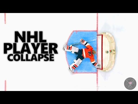 NHL Player Collapses