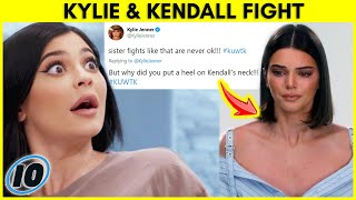 Kylie & Kendall Jenner Shocking Fight Over This