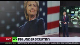 Investigating Investigators  DOJ to probe FBI's handling of Clinton email inquiry
