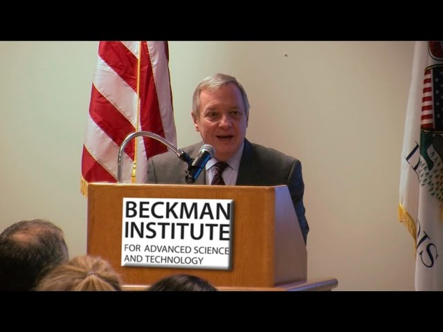 A screenshot from Senator Durbin on Funding for Biomedical Research (His Remarks and Q&A Only)