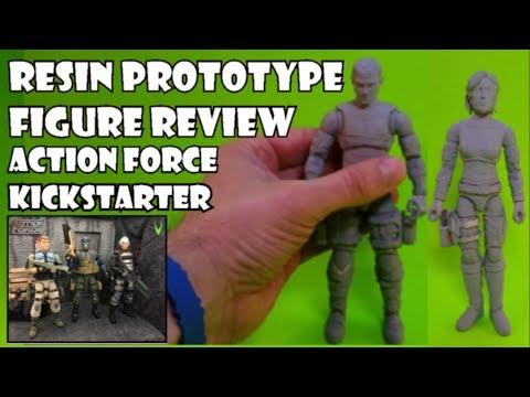 Valaverse's Kickstarter Action Force Condor & Eclipse Prototype Review & Bill Nedrow interview