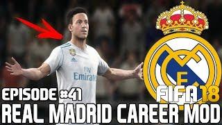 ТРАНСФЕРЫ / БУДУЩИЙ РОНАЛДУ? | FIFA 18 | Карьера тренера за Реал Мадрид [#41]