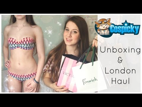 Cospicky Unboxing & London Haul!